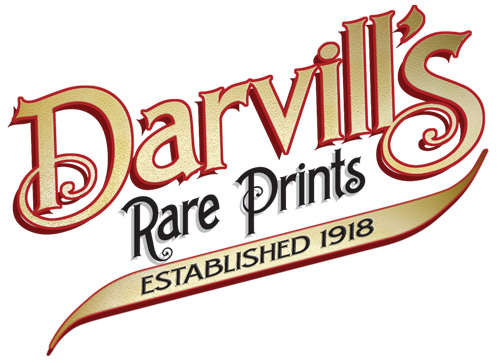 Rare prints and maps...Since 1918! Click here to go to Darvill's home page.