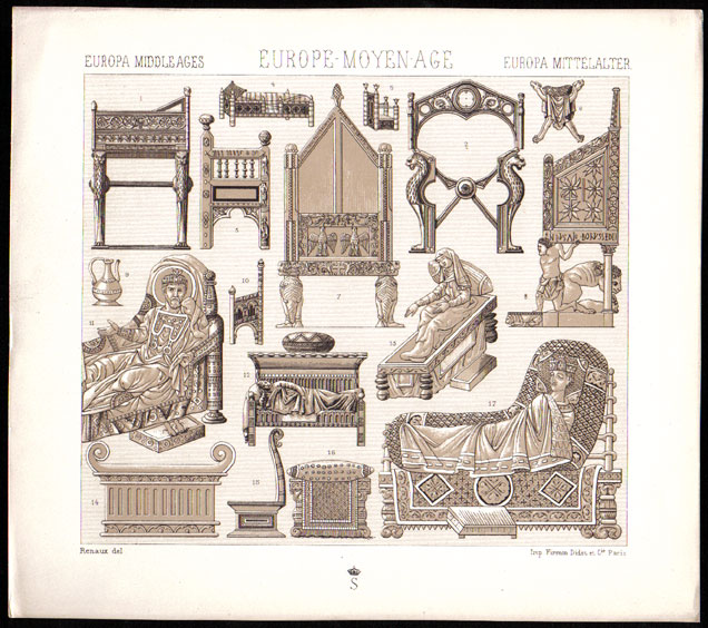 middle ages furniture