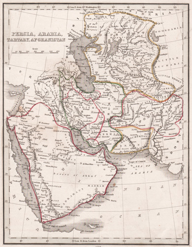 Persia, Arabia, Tartary and Afghanistan 1835