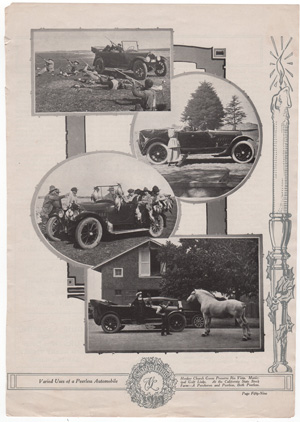 Valid uses of Peerless Automobiles