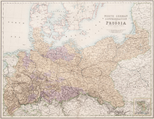 The North German Confederation and Prussia 1860