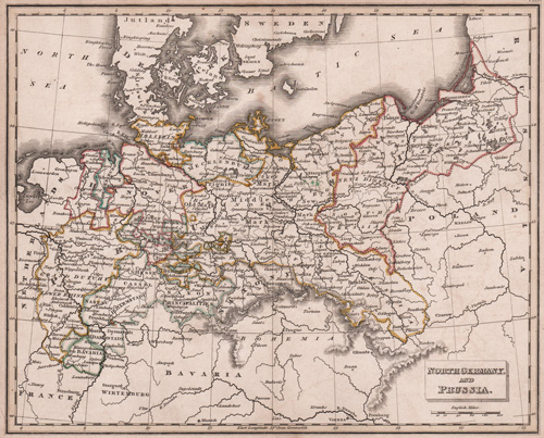 North Germany and Prussia 1831