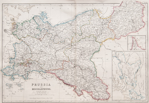 Prussia and Mecklenburg 1860