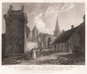 Cathedral and Episcopal Palace at Glasgow