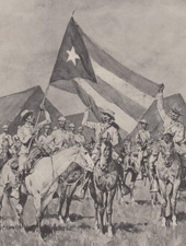 Spanish American War prints by Frederic Remington