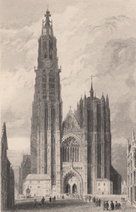 West Front, Antwerp Cathedral