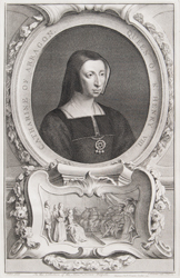 Catharine of Arragon, Wife of King Henry VIII