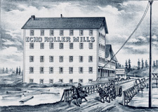 FLOURING MILL OF S.H. HAVEMALE & SON [ECHO ROLLER MILLS]