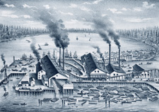PORT GAMBLE MILLS, PUGET MILL COMPANY OWNERS