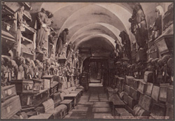 The Catacombs of the Capuchins, Palermo, Italy