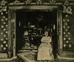 Mother in Doorway