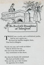 The Bailiff's Daughter of Islington