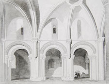 Interior of the Church of Creully