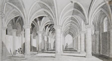 Mount St. Michel, Interior of Knight's Hall