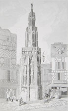 Fountain of the Stone Cross at Rouen