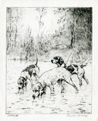 Cooling Off etching by Percival Rosseau