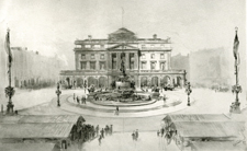 War Memorial Fountain and Hall, Nottingham