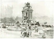 Study for Memorial to King Edward VII, Parliament Square