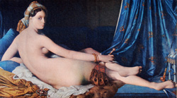 ODALESQUE COUCHEE by Ingres