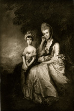 Gainsborough Countess of Sussex and Lady Barbara Yelverton