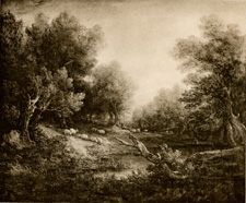 Gainsborough Landscape with sheep