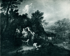 Gainsborough [The Harvest Wagon, 1784]