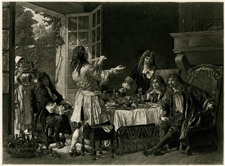 A Dinner at the House of Molière at Auteuil