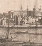 antique prints of London, England