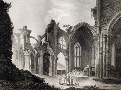 Plate 28, Melrose Abbey