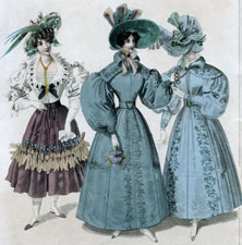 Costumes of All Nations, Walking Dress