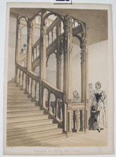 Staircase at Audley End, Essex