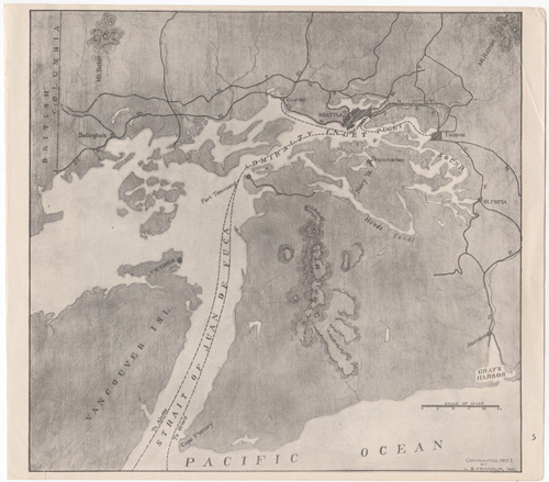 map of Puget Sound