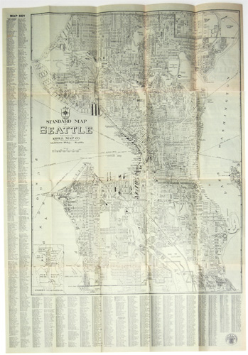 Seattle map 1930s