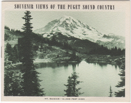 Souvenir Views of the Puget Sound Country