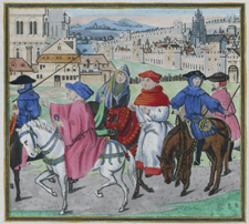 The Canterbury Procession
