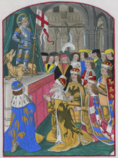 The Sovereigns of Europe Worshipping St. George