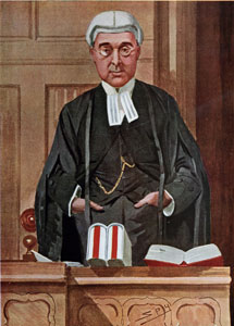 The Honourable Mr. Justice Warrington